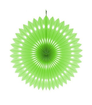 Паперова розетка зелена 40 см