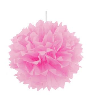 Помпон рожевий