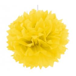 Помпон жовтий 40см