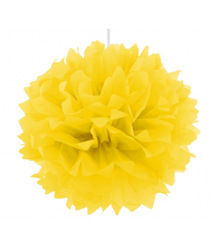 Помпон желтый