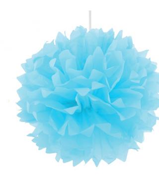 Помпон блакитний