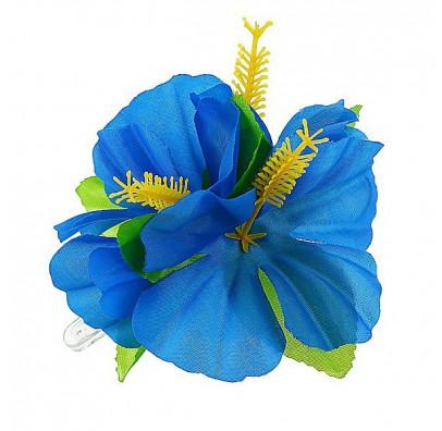 Заколка Гавайская синяя