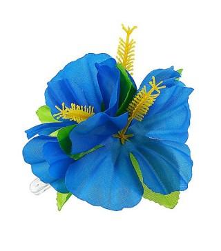 Гавайська заколка синя