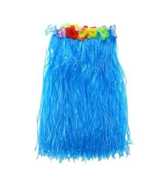 Спідниця гавайська синя