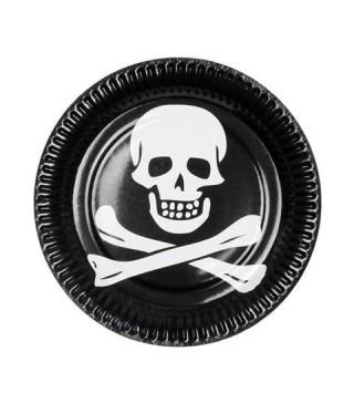 Тарілочки Пірати 6 шт