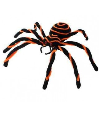Павук декоративний великий чорно-оранжевий