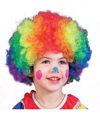 Перука клоуна кольорова