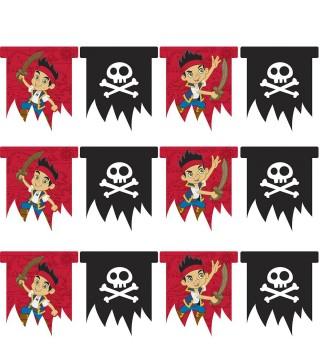 Гирлянда-флажки Пират