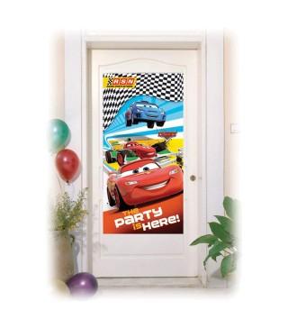 Банер на двері Тачки