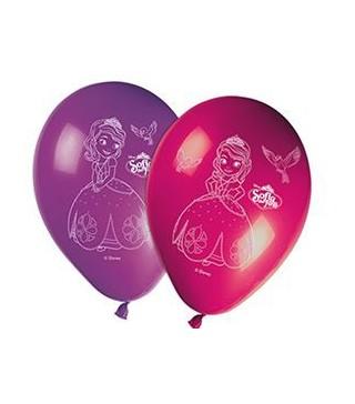 Набір кульок Принцеса Софія 8шт/уп
