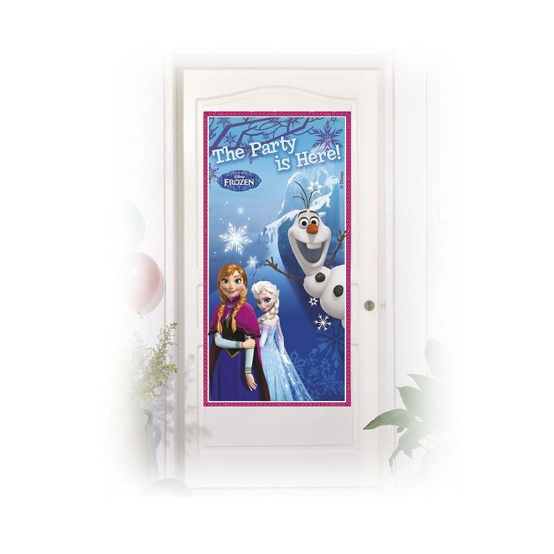 Банер на двері Крижане серце