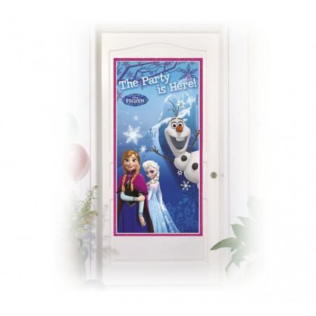 Баннер на дверь Frozen