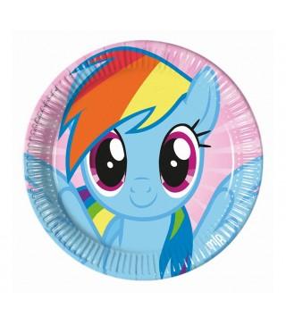 Тарілочки My Little Pony, 8 шт/уп