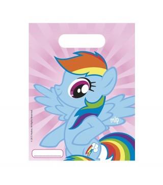 Подарочные пакеты My Little Pony 6шт/уп