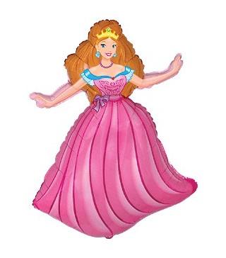 Кулька фольгована Принцеса