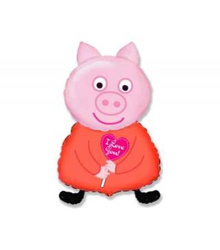 Кулька повітряна Свинка Пеппа