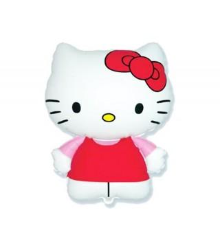 Шарик фольгированный фигурный Hello Kitty