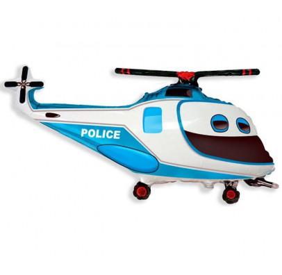 Шарик фольгированный фигурный Вертолет