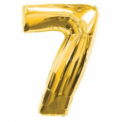 Кулька цифра 7 золото...