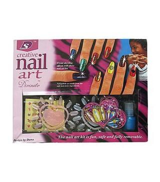 Набор Цветные ногти