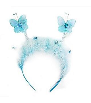Обруч Бабочка голубая