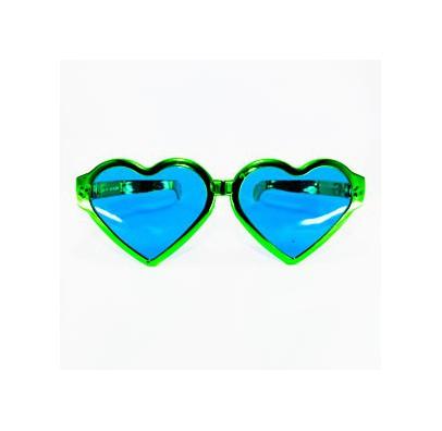 Очки Сердце блестящие