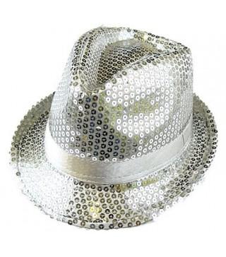 Шляпа Супер звезда серебрянная