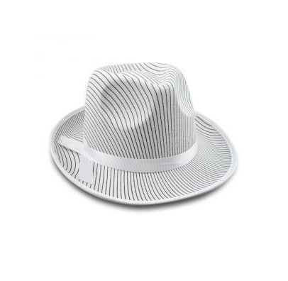 Шляпа Мафия белая