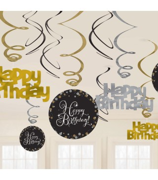 Підвіска Happy Birthday