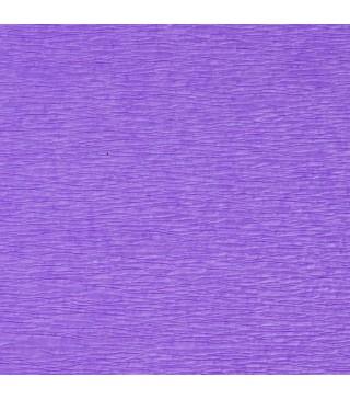 Креп-папір бузковий