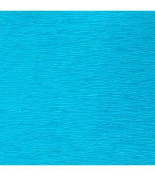 Креп-бумага голубая 50х200см