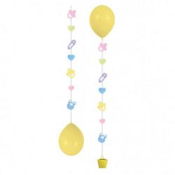 Підвіски до кульок Baby 3шт/уп