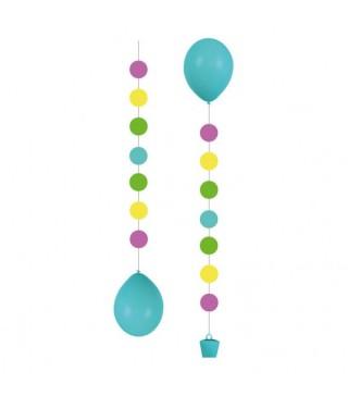 Подвески для шариков Кружочки 3шт/уп
