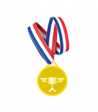 Золотые медали Тачки 6шт/уп