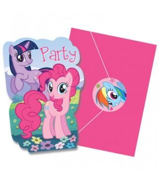 Пригласительное My Little Pony 1шт