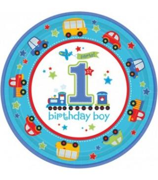 Тарілочки 1-st birthday, 8шт/уп