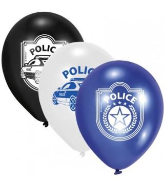 Набор шариков Полиция 6шт/уп