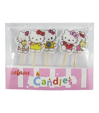 Свічки Happy Birthday Hello Kitty 5шт/уп