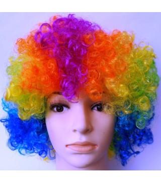 Перука клоунська різноколірна