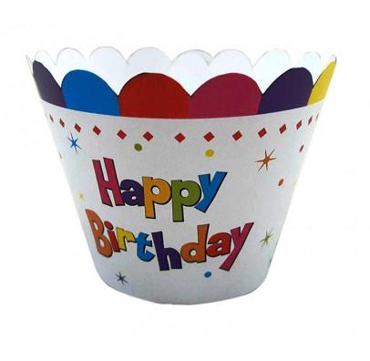 Формочки для маффинов Happy Birthday