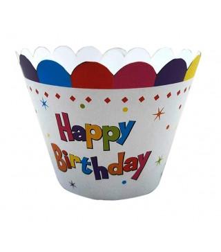 Формочки для мафінів Happy Birthday