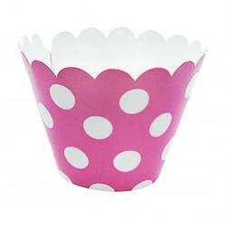 Формочки для мафінів рожеві...