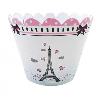 Формочки для маффинов Париж
