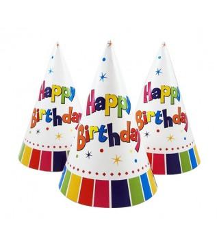 Шапочка колпачок Happy birthday