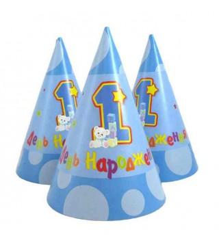 Шапочка ковпачок 1 день народження