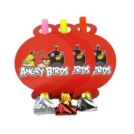Язычок-гудок Angry Birds 6шт/уп