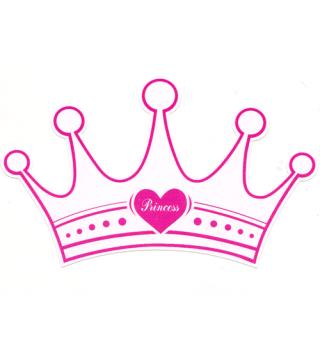 Запрошення Princess 6шт/уп