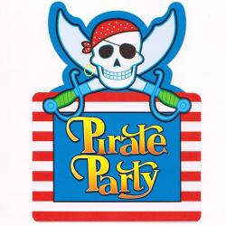 Запрошення Pirate 6шт/уп