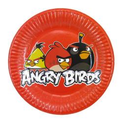 Тарілки Angry Birds 8шт/уп