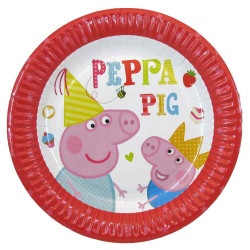 Тарілки паперові Свинка...